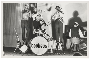 Groupe de jazz de l'école du Bauhaus