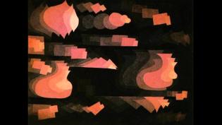 Paul Klee, Fugue in Red, 1922.