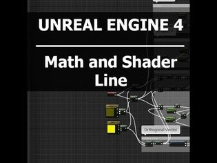 UE4 Tutorial - Create 2D Line with Material