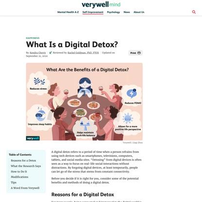 The Benefits of Doing a Digital Detox