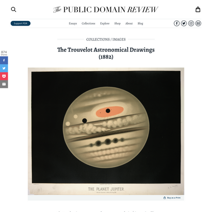The Trouvelot Astronomical Drawings (1882)