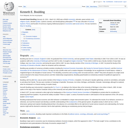 Kenneth E. Boulding - Wikipedia