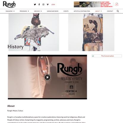 History - Rungh Cultural Society
