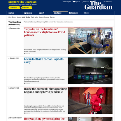 The Guardian picture essay | Art and design | The Guardian