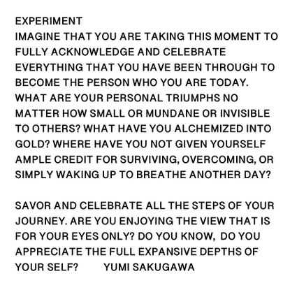 """Yumi Sakugawa on Instagram: """"🥳 WHAT ARE YOU CELEBRATING ABOUT YOURSELF TODAY? Please comment below. This post is a reminder ..."""