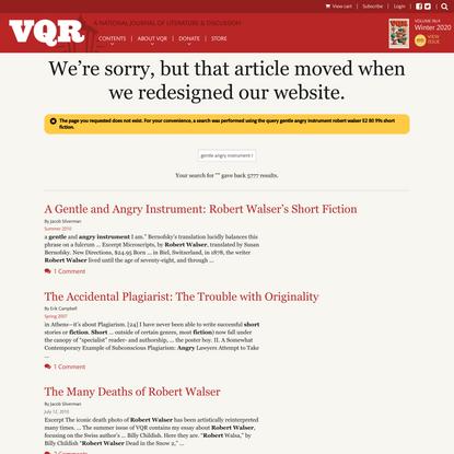 VQR Online