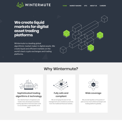 Wintermute | Crypto market maker