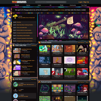 Newgrounds.com - Everything, by Everyone