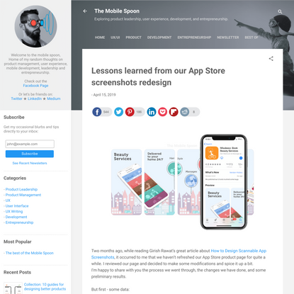 Lessons learned from our App Store screenshots redesign