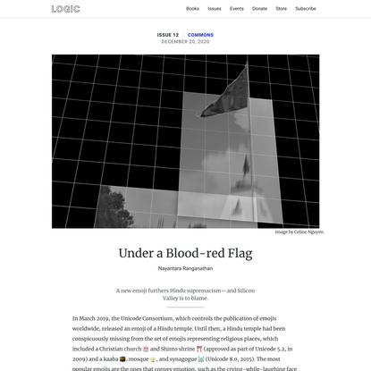 Under a Blood-red Flag