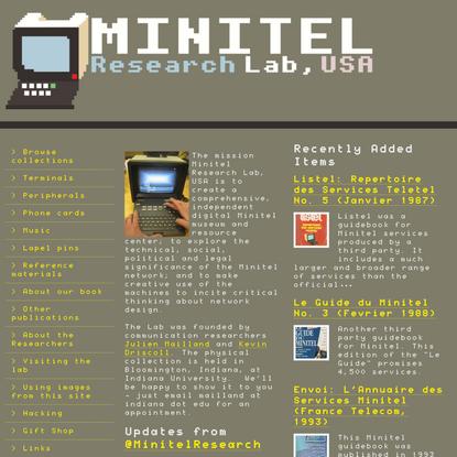 Minitel Research Lab, USA