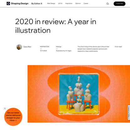 The Best Illustrations of 2020: A Year in Review