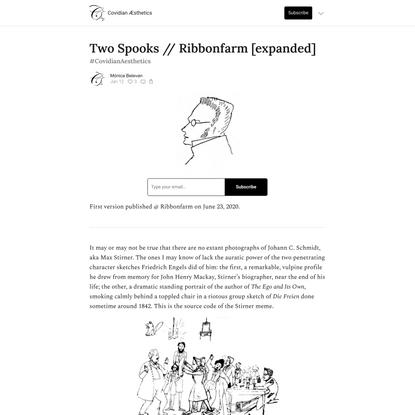 Two Spooks // Ribbonfarm [expanded]