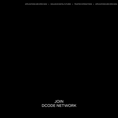 DCODE NETWORK
