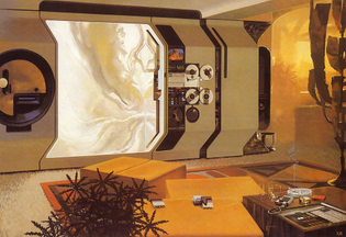 Syd Mead's American home of 2021