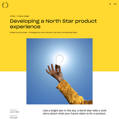 Developing a North Star product experience | Dropbox Design