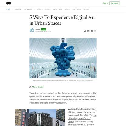 5 Ways To Experience Digital Art in Urban Spaces