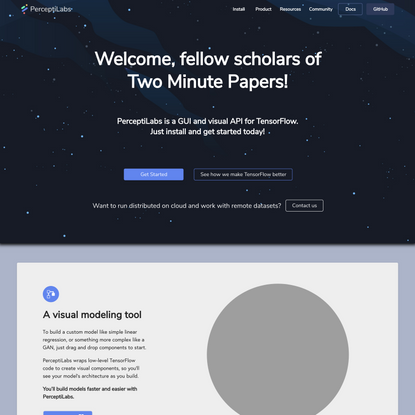 Two Minute Papers | PerceptiLabs