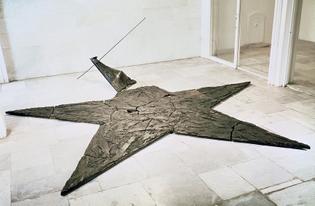 gilberto zorio, star [to purify words], 1980