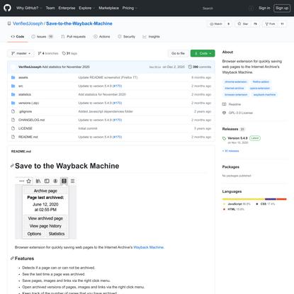 VerifiedJoseph/Save-to-the-Wayback-Machine