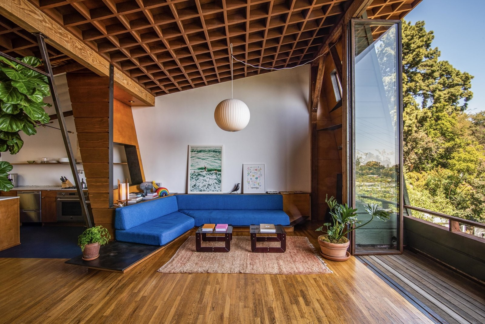 Laurel Canyon Home by Quincy Jones & Ruth Schneider, California, USA