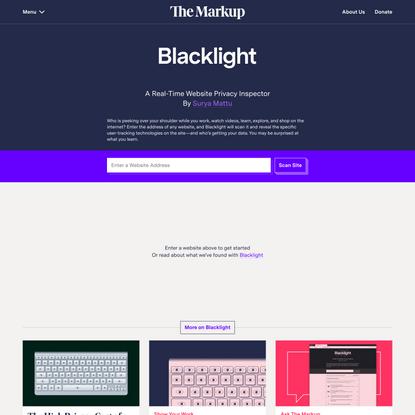 Blacklight – The Markup