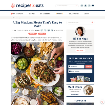 A Big Mexican Fiesta That's Easy to Make
