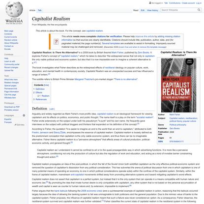 Capitalist Realism - Wikipedia