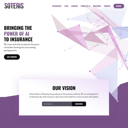 Soteris - Bringing The Power Of AI To Insurance