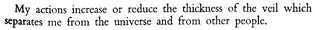 Simone Weil, tr. by Richard Rees, First and Last Notebooks