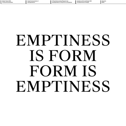 Process Documentation/ MA Thesis 2020 — Quote