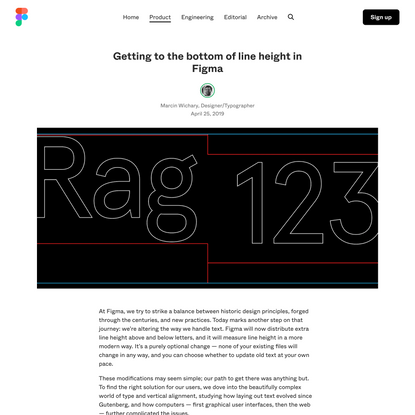 Getting to the bottom of line height in Figma