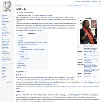 bell hooks - Wikipedia