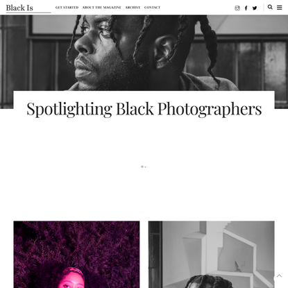 Black Is Magazine – Black Is Magazine