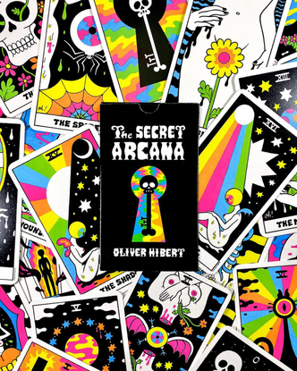 "Oliver Hibert on Instagram: ""The Secret Arcana is available now at www.oliverhibert.com !!! The 22 card Secret Arcana deck c..."