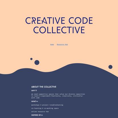 Home | Creative Code Collective