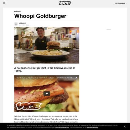 Whoopi Goldburger