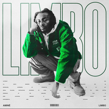 """ALBUM ART ATTACK on Instagram: """"Repost from @breumvisuals """"LIMBO"""" by @amine 🎾 Alternative artwork + tour poster design by me"""""""