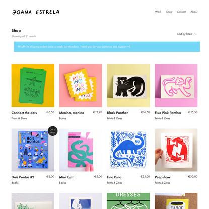 Products – Joana Estrela