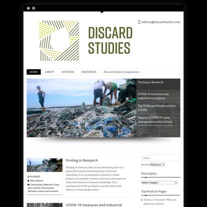 Discard Studies