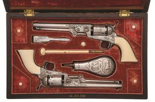 1851 Colt Revolving Navy Pistol