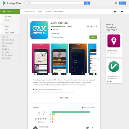GAM Cultural - Apps on Google Play