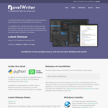 novelWriter