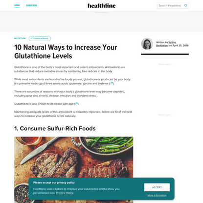 10 Natural Ways to Increase Your Glutathione Levels