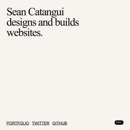 @_catangui | Sean Catangui