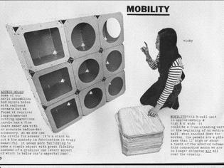 Ken Isaacs Matrix Cube Storage