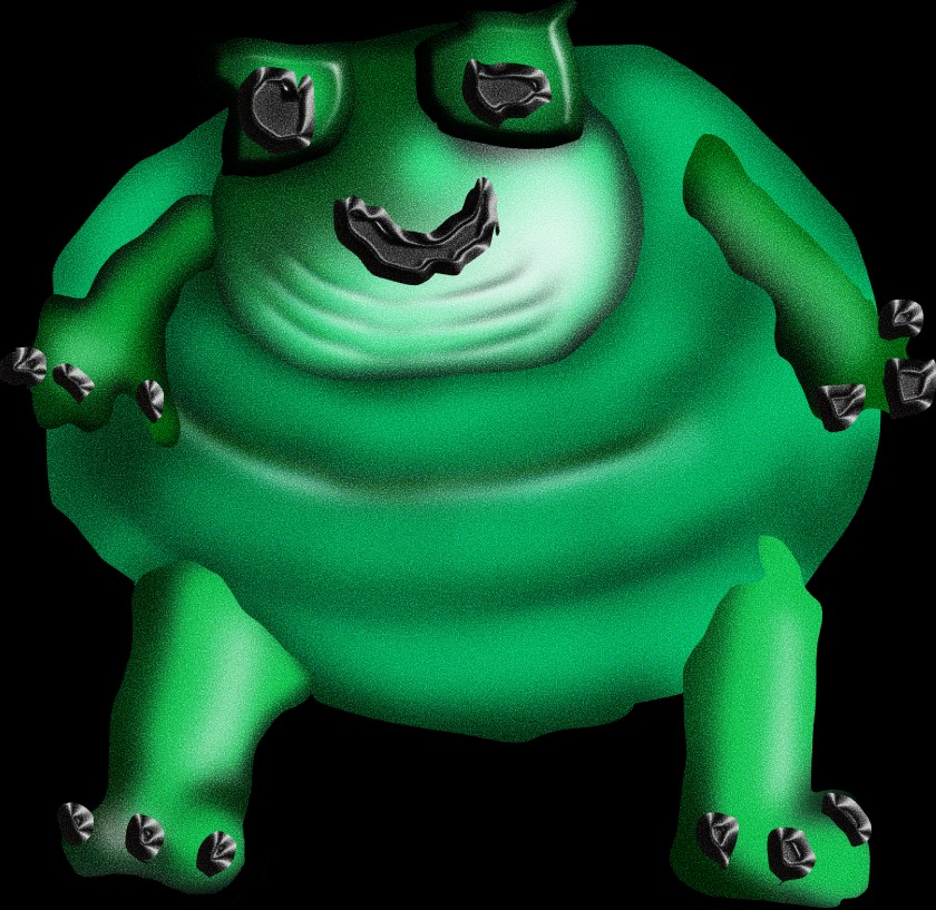 Good Start Frog by Nick Dap (@nick.dap)