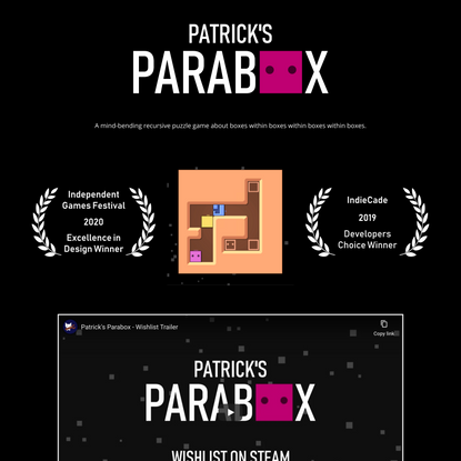Patrick's Parabox