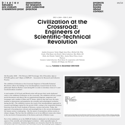 Civilization at the Crossroad: Engineers of Scientific-Technical Revolution | Display