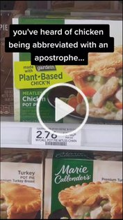 checking out the vegan options